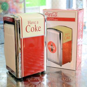 コカコーラ Coca-Cola ペーパーナプキンディスペンサー PJD-TC02 *メール便不可|wappenstore
