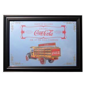コカコーラ Coca-Cola 鏡/パブミラー(デリバリートラック/36x49cm) PJP-007 *送料無料|wappenstore