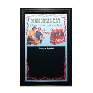 コカコーラ Coca-Cola 鏡/パブミラー&メニューボード(メモリアルデー/57x42cm) PJP-MS01 *送料無料|wappenstore
