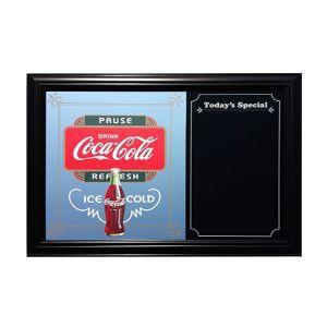 コカコーラ Coca-Cola 鏡/パブミラー&メニューボード(ポーズ/42x57cm) PJP-MS02 *送料無料|wappenstore