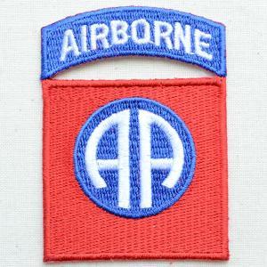 ミリタリーワッペン Airborne エアボーン オールアメリカン アメリカ陸軍 PM0020|wappenstore