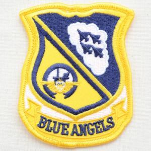 ミリタリーワッペン Blue Angels ブルーエンジェルス アメリカ海軍 エンブレム PM0024|wappenstore