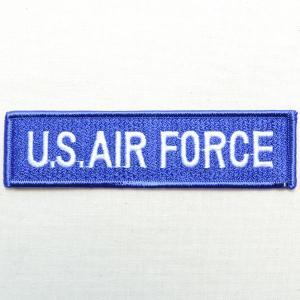 ミリタリーワッペン U.S.Air Force エアフォース Tab アメリカ空軍 ブルー PM0098|wappenstore