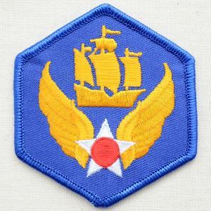 ミリタリーワッペン 6th Air Force エアフォース アメリカ空軍 ブルー PM0151|wappenstore