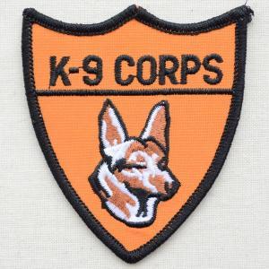 ミリタリーワッペン K-9 Corps 犬 エンブレム PM0175|wappenstore