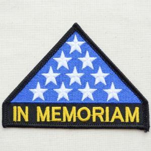 ミリタリーワッペン In Memoriam インメモリアム PM0484|wappenstore
