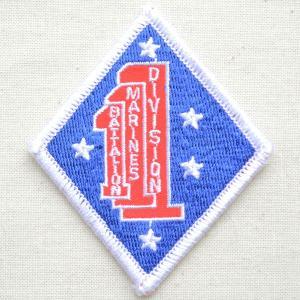 ミリタリーワッペン 1st Division アメリカ海兵隊(ダイヤ) PM0645|wappenstore