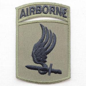ミリタリーワッペン 173rd Airborne エアボーン OD/カーキ PM0711|wappenstore