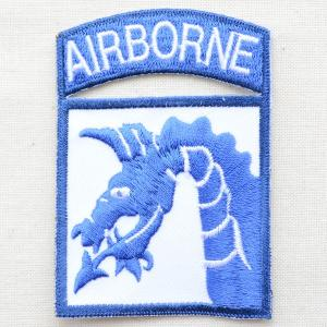 ミリタリーワッペン 18th Airborne エアボーン(ドラゴン) PM0775|wappenstore
