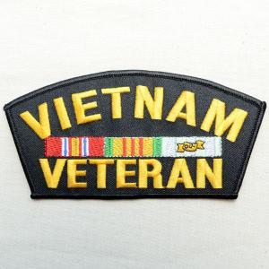 ミリタリーワッペン Vietnam Veteran ベトナムベテラン PM1340|wappenstore
