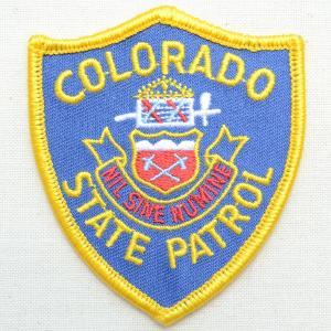 ポリスエンブレムワッペン アメリカ/コロラド州警察 PM3306 wappenstore