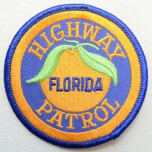 ポリスエンブレムワッペン アメリカ/フロリダ州ハイウェイパトロール PM3309 wappenstore