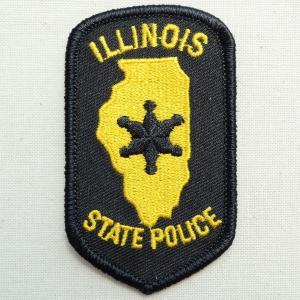 ポリスエンブレムワッペン アメリカ/イリノイ州警察 PM3313 wappenstore