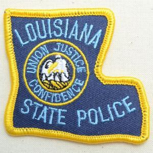 ポリスエンブレムワッペン アメリカ/ルイジアナ州警察 PM3318 wappenstore