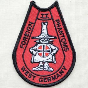 ミリタリーワッペン West Germany Phantom 西ドイツ[糊なし] PM5330|wappenstore