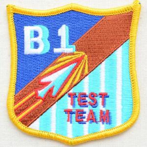 ミリタリーワッペン B1 Test Team アメリカ空軍 エンブレム PM5356|wappenstore
