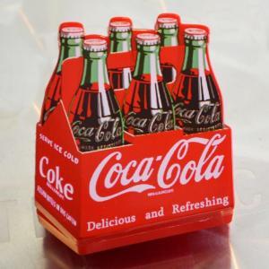 コカコーラ Coca-Cola 磁石/マグネットクリップ(ボトルパック) PMC-102 *メール便不可|wappenstore