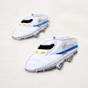 鉄道/電車 トレインワッペン 700系新幹線(2枚組) PR450-60753 wappenstore