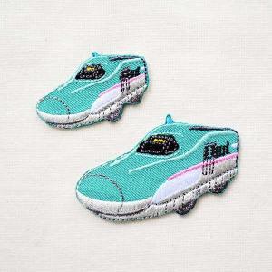 男の子に人気のプラレールの乗り物モチーフの刺繍ワッペン・パッチ。 鉄道・特急・新幹線シリーズです。 ...