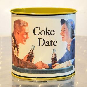 コカコーラ Coca-Cola TINボックス(コークデート) PT-BWB *メール便不可 wappenstore