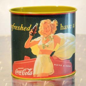 コカコーラ Coca-Cola TINボックス(リフレッシュド ハブアコーク) PT-BWC *メール便不可|wappenstore