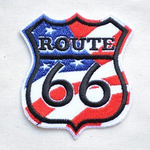 アメリカンワッペン U.S.Route66 ルート66(アメリカ) ロードサイン|wappenstore