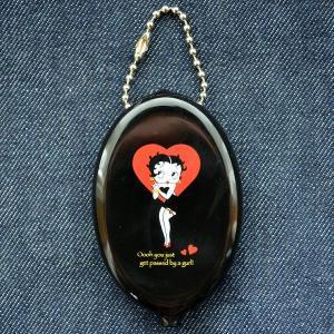 ラバーコインケース ベティブープ Betty Boop(ブラック)|wappenstore