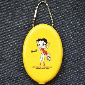 ラバーコインケース ベティブープ Betty Boop(イエロー)|wappenstore