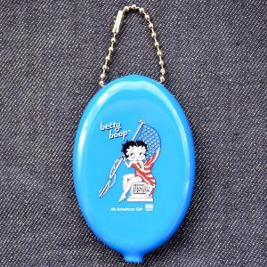 ラバーコインケース ベティブープ Betty Boop(ブルー)|wappenstore
