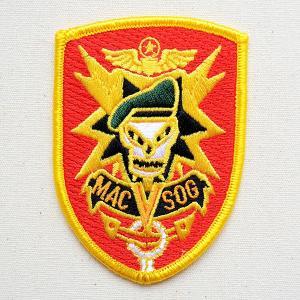 ミリタリーワッペン パッチ MACV-SOG 南ベトナム軍事援助司令部 名前 作り方 ROW-0001|wappenstore