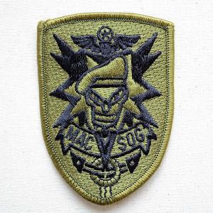 ミリタリーワッペン パッチ MACV-SOG 南ベトナム軍事援助司令部 OD 名前 作り方 ROW-0002|wappenstore