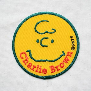 シールワッペン スヌーピー Snoopy(チャーリーブラウン) S02Y8881|wappenstore