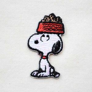 シールワッペン スヌーピー Snoopy(ドッグディッシュ 2) S02Y9456|wappenstore