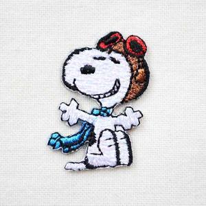 シールワッペン スヌーピー Snoopy(フライングエース 2) S02Y9457|wappenstore