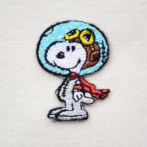 シールワッペン スヌーピー Snoopy(アストロノート/宇宙飛行士 2) S02Y9458|wappenstore