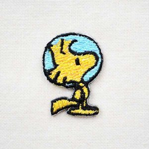 シールワッペン スヌーピー Snoopy(アストロノート/ウッドストック) S02Y9459|wappenstore