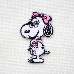 シールワッペン スヌーピー Snoopy(ベル 2) S02Y9463|wappenstore