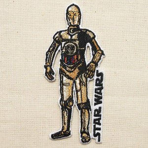 ワッペン スターウォーズ Star Wars C-3PO SWPCH-06|wappenstore