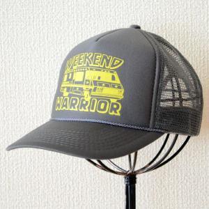 帽子/メッシュキャップ トラックブランド Weekend(グレー) A34 [メール便不可] wappenstore