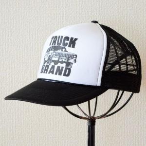 帽子/メッシュキャップ トラックブランド Tuff(ブラック&ホワイト) C16 [メール便不可] wappenstore