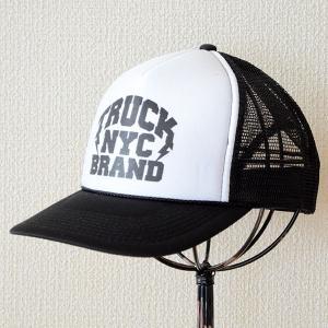 帽子/メッシュキャップ トラックブランド Bronx(ブラック&ホワイト) C37 [メール便不可] wappenstore