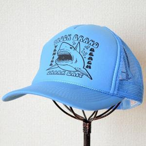 帽子/メッシュキャップ トラックブランド Bait(シャーク/ライトブルー) OV24 [メール便不可]|wappenstore