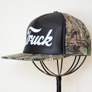 帽子/メッシュキャップ トラックブランド Detroit(カモフラージュ/フラットブリム) V2 *メール便不可|wappenstore