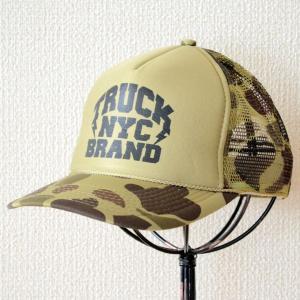 帽子/メッシュキャップ トラックブランド Bronx(迷彩/カモフラージュ) Z1 [メール便不可]|wappenstore
