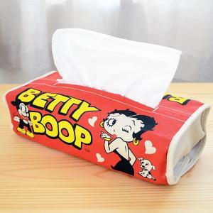 ティッシュペーパーカバー/ケース ベティブープ Betty Boop(レッド)|wappenstore