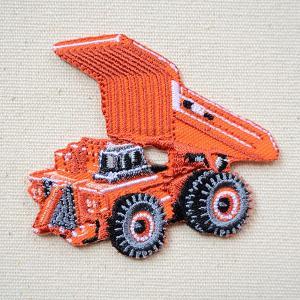 ワッペン トミカ リジッドダンプトラック EH3500ACII 日立建機 名前 作り方 TC501-60937|wappenstore