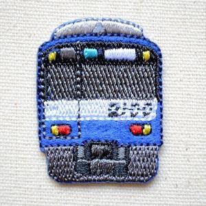 鉄道/電車 トレインミニワッペン 京急2100計ブルースカイトレイン 名前 作り方 TR380-TR51|wappenstore
