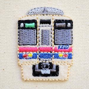 鉄道/電車 トレインミニワッペン 京王9000系 TR380-TR71|wappenstore