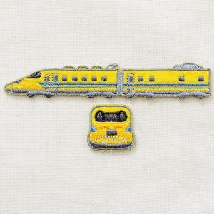 鉄道/電車 トレインワッペン2 923形ドクターイエロー(2枚組) TR505-TR803|wappenstore