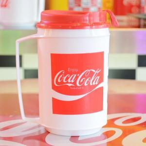 コカコーラ Coca-Cola コンボマグ/缶ホルダー(リボン) アメリカ製 TS-CM04 *メール便不可|wappenstore